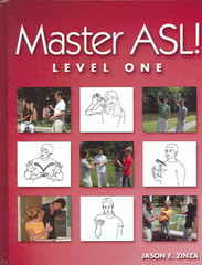 Master ASL! Level One (with DVD) 1st Edition 9781881133209 1881133206