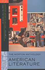 The Norton Anthology of American Literature 7th edition 9780393930559 0393930556