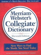 Merriam Websters College Dictionary with CD-ROM 1st Edition 9780877798095 0877798095