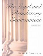 The Legal and Regulatory Environment of Business 3rd Edition 9780130330260 0130330264