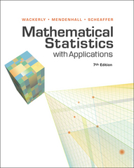 Mathematical Statistics with Applications 7th Edition 9781111798789 1111798788