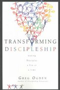 Transforming Discipleship 1st Edition 9780830868087 0830868089