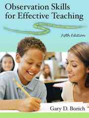 Observation Skills for Effective Teaching 5th Edition 9780132229005 0132229005