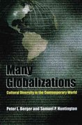 Many Globalizations 1st Edition 9780195168822 0195168828