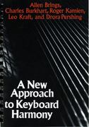 A New Approach to Keyboard Harmony 1st Edition 9780393950014 0393950018