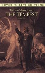 The Tempest 1st Edition 9780486406589 048640658X