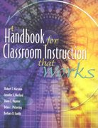 A Handbook for Classroom Instruction That Works 1st Edition 9780871205223 087120522X