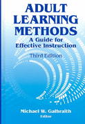 Adult Learning Methods 3rd edition 9781575242323 157524232X