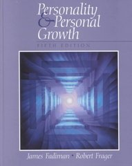 Personality and Personal Growth 5th edition 9780130409614 0130409618