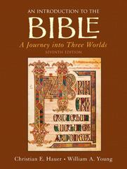An Introduction to the Bible 7th edition 9780136155300 0136155308
