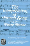 The Interpretation of French Song 1st Edition 9780393008784 0393008789