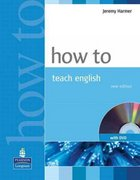 How To Teach English (with DVD) 1st edition 9781405853095 1405853093