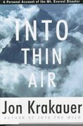 Into Thin Air 1st Edition 9780679457527 0679457526