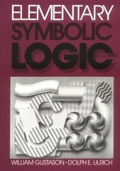 Elementary Symbolic Logic 2nd Edition 9780881334128 088133412X