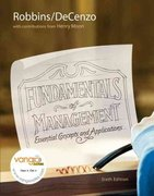 Fundamentals of Management 6th Edition 9780136007104 0136007104