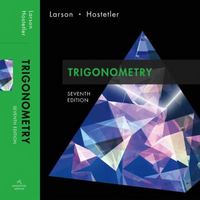 Trigonometry 7th edition 9780618643325 061864332X