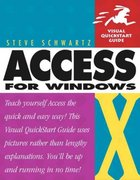 Microsoft Office Access 2003 for Windows 1st edition 9780321193933 0321193938