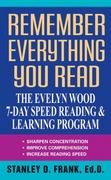Remember Everything You Read 1st Edition 9780380715770 0380715775