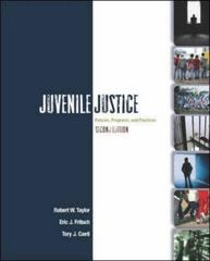 Juvenile Justice 2nd edition 9780073129273 0073129275