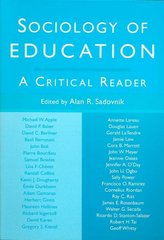 Sociology of Education 1st edition 9780415954976 0415954975