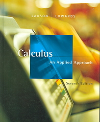 Calculus: An Applied Approach 7th edition 9780618547180 0618547185
