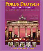 Fokus Deutsch:  Beginning German 1 (Student Edition + Listening Comprehension Audio CD) 1st edition 9780072336658 007233665X