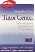 Prentice Hall Math Tutor Center 1st edition 9780130646040 0130646040