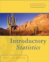 Introductory Statistics 8th edition 9780321393616 0321393619