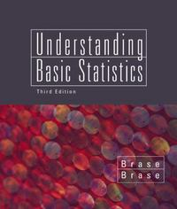 Understanding Basic Statistics, Brief 3rd edition 9780618315536 0618315535
