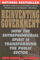 Reinventing Government 1st Edition 9780452269422 0452269423