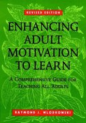 Enhancing Adult Motivation to Learn 1st edition 9780787903602 0787903604