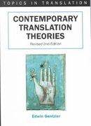 Contemporary Translation Theories 2nd edition 9781853595134 1853595136