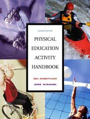 Physical Education Activity Handbook 11th Edition 9780805379440 0805379444