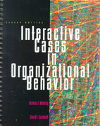 Interactive Cases in Organizational Behavior 2nd edition 9780673993724 0673993728