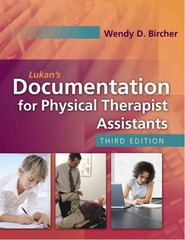 Lukan's Documentation for Physical Therapist Assistants 3rd Edition 9780803617094 0803617097
