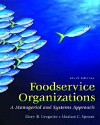 Foodservice Organizations 6th Edition 9780131936324 0131936328
