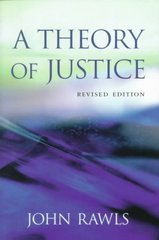 A Theory of Justice 2nd Edition 9780674000780 0674000781