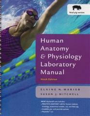 Human Anatomy and Physiology Laboratory Manual 9th edition 9780805373639 0805373632