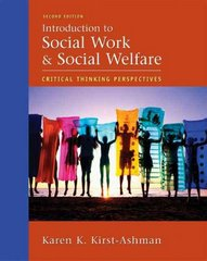 Introduction to Social Work and Social Welfare 2nd edition 9780495002444 0495002445