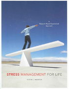 Stress Management for Life 1st edition 9780534644765 0534644767