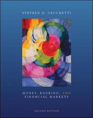 Money, Banking and Financial Markets 2nd edition 9780073523095 0073523097