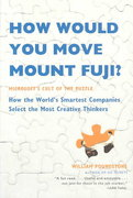 How Would You Move Mount Fuji? 0 9780316778497 0316778494