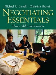 Negotiating Essentials 1st edition 9780131868663 0131868667