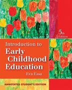 Introduction to Early Childhood Education 5th edition 9781418000790 1418000795