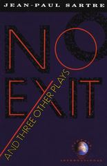 No Exit and Three Other Plays 1st Edition 9780679725169 0679725164