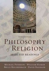 Philosophy of Religion: Selected Readings 3rd Edition 9780195188295 0195188292