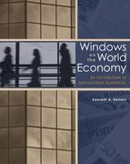 Windows on the World Economy with Economic Applications 1st edition 9780030313998 0030313996