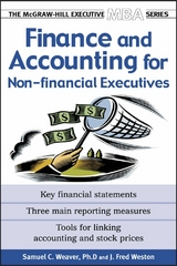Finance & Accounting for Non-Financial Managers 1st Edition 9780071435369 0071435360