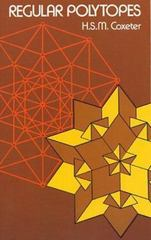 Regular Polytopes 3rd edition 9780486614809 0486614808