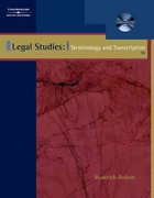 Legal Studies 5th Edition 9780538437226 0538437227